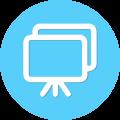 presentatie-icon-blauw